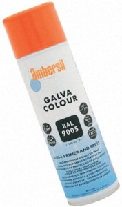 Ambersil Galva Colour, czarny 9005, aerozol 500 ml